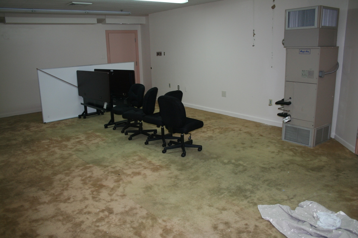 There is now empty office space where the Professional Standards Unit once conducted investigations at 321 John Sartain. The Offices have relocated to 5805 Williams Drive