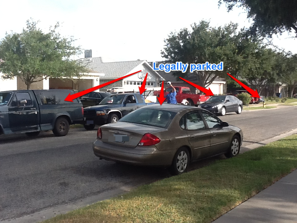 Report Illegally Parked Car