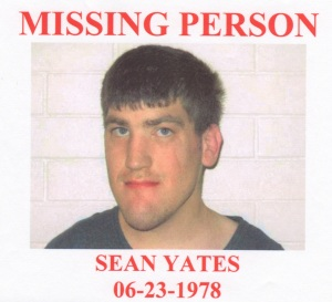 Missing Person Sean Yates