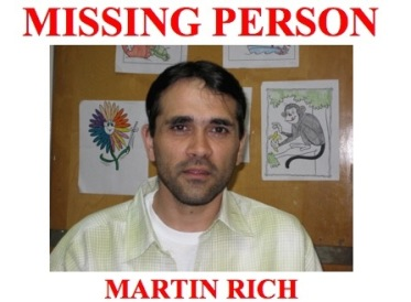 Missing Person Martin Rich