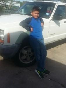 8 year old Omar Santoyo