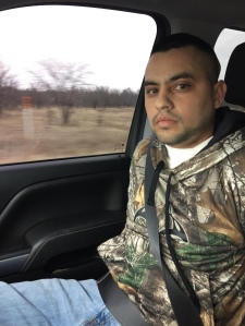Picture sent by U.S. Marshals of Pete Valdez after his capture