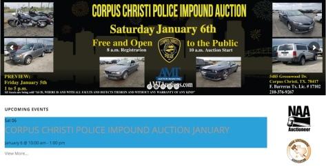 Impound Auction