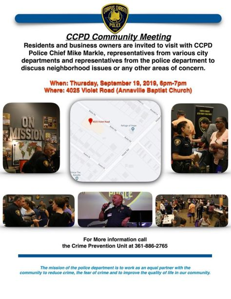 Community Meeting 09-19-19