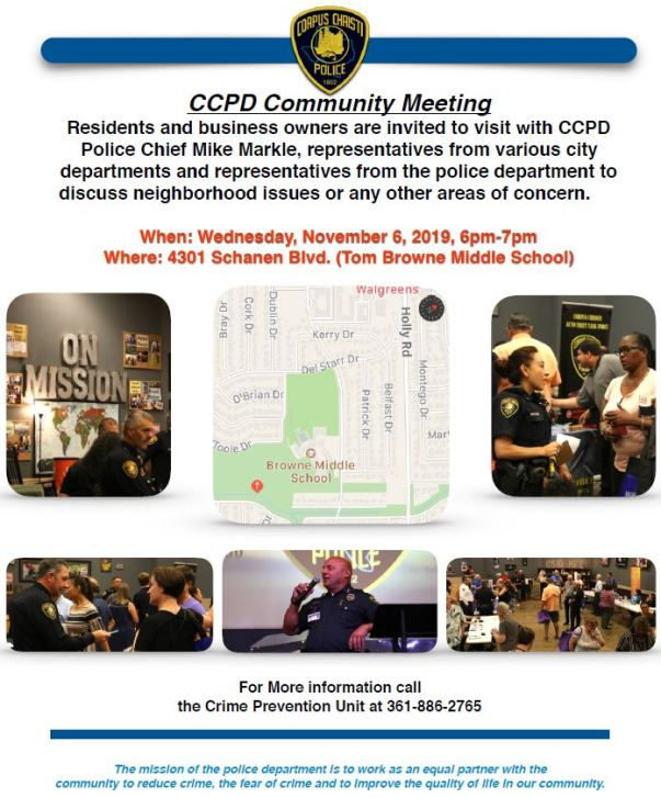 11-06-19 Community Meeting