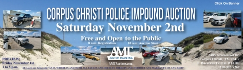 2019 November Impound Lot Auction