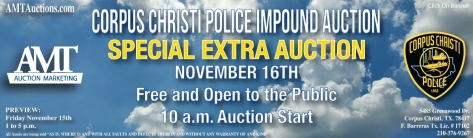 11-16-19 Impound Lot Auction