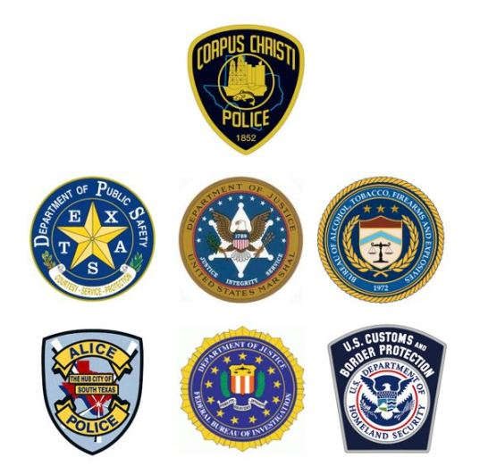 CCPD DPS HSI USM APD FBI ATF