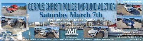 03-07-20 CCPD Impound Lot Auction